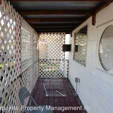 Rental info for 160 O'Neal Lane Space#11