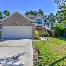 Rental info for 1409 Sycamore Leaf Way in the Conroe area