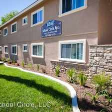 Rental info for 6661 School Circle, #10