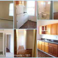Rental info for 181 Woodside Ave #2A in the Newark area