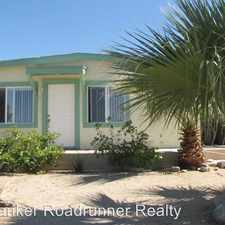 Rental info for 74835 Alta Loma Drive