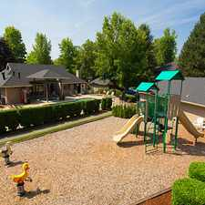 Rental info for Offers pet-friendly one-, two-, and three bedroom apartment homes.