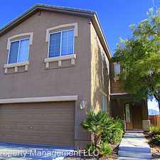 Rental info for 8212 Brilliant Pompon Place in the Las Vegas area