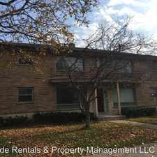 Rental info for 4430 N 76th St #1 in the Columbus Park area