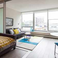 Rental info for W 2nd Ave & Manitoba St in the Vancouver area