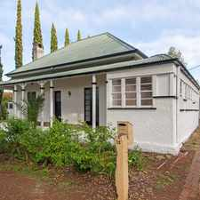 Rental info for THIS INNER CITY CHARACTER HOME IS PACKED WITH FEATURES! in the Toowoomba City area