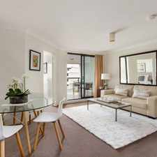Rental info for Beautifully Presented and Light Filled One Bedroom Apartment in the Haymarket area