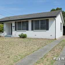 Rental info for * UNDER APPLICATION * RENOVATED FAMILY HOME! in the Frankston North area