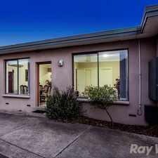 Rental info for Move in & enjoy! in the Springvale area