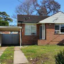 Rental info for 3 BEDROOM HOME WITH FLOORBOARDS - GAS COOKING - PLENTY OF PARKING!