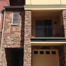 Rental info for Stunning Executive Quality Furnished Townhome for Rent at Vantage Point.