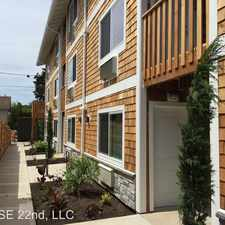 Rental info for 5624 SE 22nd Avenue 205 in the Reed area
