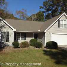 Rental info for 122 Pond View Circle