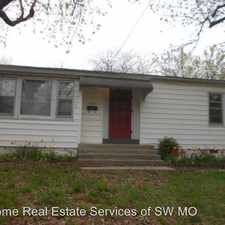 Rental info for 1438 S Rogers in the Springfield area