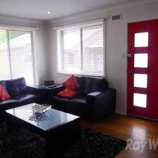 Rental info for Two bedroom delight. in the Melbourne area