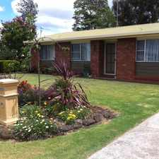 Rental info for Three Bedroom Brick Home - Be Quick To Inspect! in the Toowoomba area