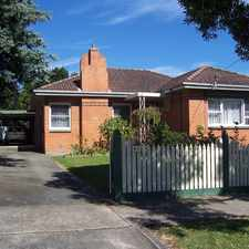 Rental info for PET FRIENDLY3 BR BRICK FAMILY HOME in the Traralgon area