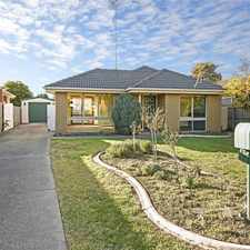 Rental info for Fantastic 3 bedroom home with everything you need! in the Geelong area