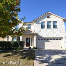 Rental info for 409 Riverine Way in the Cedar Park area