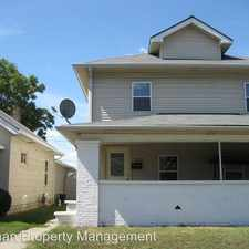 Rental info for 832 S PERSHING AVE in the West Indianapolis area