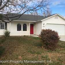 Rental info for 1824 W Curlew St in the Nampa area