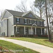 Rental info for 105-F Old Pittsboro Rd.
