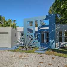 Rental info for MODERN RENOVATED HOUSE 3/2 W/ GAR. PRIVATE- $3,000 MO.***SEE REMARKS & PHOTOS*** in the Fort Lauderdale area