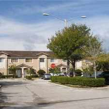 Rental info for 5630 NW 114 path #103