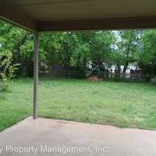 Rental info for 1109 Center in the Cleburne area