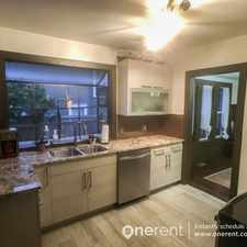Rental info for 6022 45th Ave SW Seattle in the Seaview area