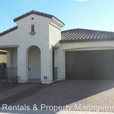 Rental info for 20571 W Nelson Place