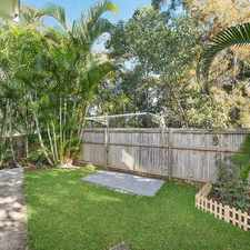 Rental info for House-Sized Townhouse in Tranquil Setting in the Caloundra West area