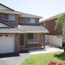 Rental info for Large townhouse i in the Kiama area
