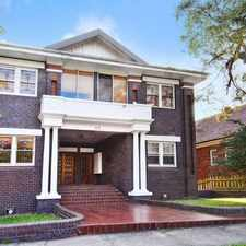 Rental info for DEPOSIT TAKEN - CHARMING ART DECO ONE BEDROOM + STUDY ! in the Coogee area