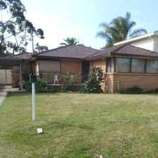 Rental info for Tidy Home In Convenient Location in the Albion Park Rail area