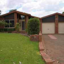 Rental info for Split level family living in the Dubbo area