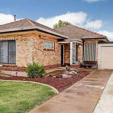 Rental info for Lovely Updated Family Home in the Largs Bay area