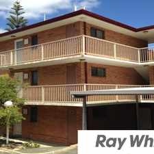 Rental info for FURNISHED UNIT CLOSE TO BEACH in the Bunbury area