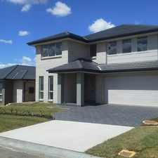 Rental info for Luxury double story home