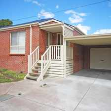 Rental info for Quality Townhouse Seeking A Great Tenant in the Ballarat area