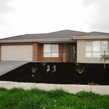 Rental info for Very Spacious & Stylish - Eucalypt Estate - 6 months lease in the Melbourne area