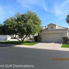 Rental info for 2109 E Mallard Ct in the Gilbert area