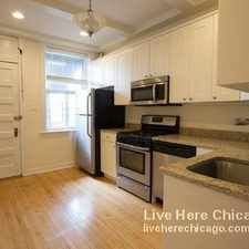 Rental info for W Berteau Ave & N Greenview Ave in the Uptown area