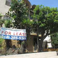 Rental info for 5835 Harold Way in the Los Angeles area