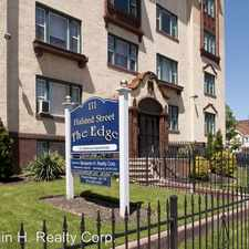 Rental info for 111 HALSTED STREET in the Newark area