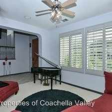Rental info for 80580 Apple Ct in the 92253 area