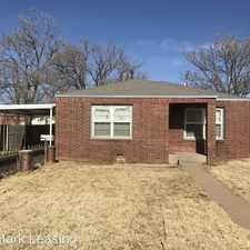 Rental info for 2810 35th Street in the Lubbock area