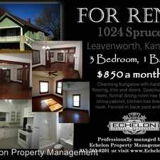 Rental info for 1024 Spruce