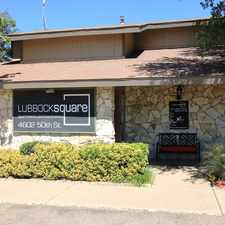 Rental info for Lubbock Square in the Lubbock area