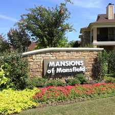 Rental info for Mansions Of Mansfield in the Mansfield area